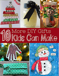 diy christmas gifts kids can make