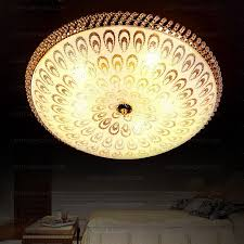 Crystal Ceiling Mount Light Fixture by Luxury Crystal Flush Mount Ceiling Light With 4 Light