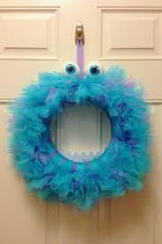 Halloween Tulle Wreath by The 25 Best Monster Wreath Ideas On Pinterest Halloween Monster