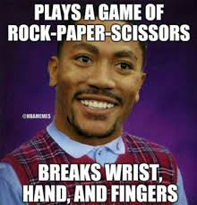 D Rose Memes - derrick rose s injuries illustrated by 7 hilarious nba memes