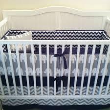 shop navy crib bedding on wanelo