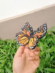 a beautiful quilled butterfly