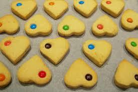heart shaped cookies heart shaped shortbread cookies recipe recipeyum