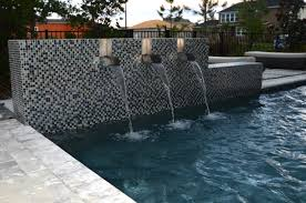 Waterfall Glass Tile Orlando Water Features Photos Clermont Waterfalls The Villages