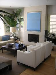 Modern White Arm Chairs Home Accessories Modern Living Room Design With White Armchairs