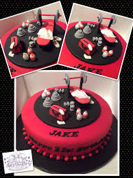 birthday cake with personal photo 8