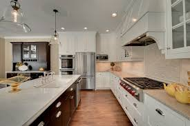 Tops Kitchen Cabinets by Quartz Counter Tops Kitchen Traditional With Black Hardware