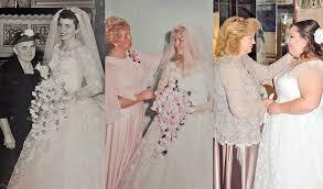 wedding dress restoration unique dress beautifully restored for 3rd generation kimmel