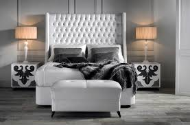 Contemporary Bed Frames Uk White Gloss Bedroom Furniture