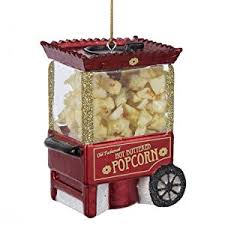 noble gems popcorn machine ornament 3 25 inch home