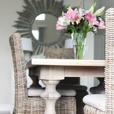 Dining Room Wicker Chairs Gray Wicker Dining Chairs Design Ideas