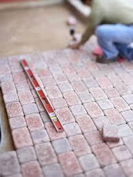Diy Patio Pavers Installation How To Install A Paver Patio Patios Foundation And Concrete Pavers