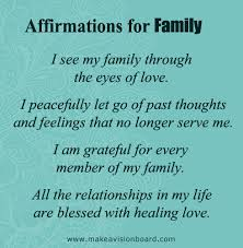 100 positive affirmations for family confidence happiness