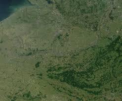 Satellite View Maps Satellite View Of Belgium 2001 Full Size