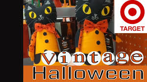 target vintage halloween u0026 fall decor shop with me youtube