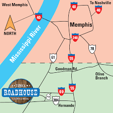 Map Of Casinos In Las Vegas by Tunica Roadhouse Hotel Rooms Mississippi