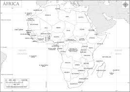 mapa de africa mapas de áfrica para colorear
