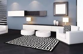Area Rug Black And White Black White Rug In Luxurious Sewn Cowhide Posh Rug