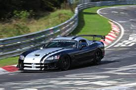 when was the dodge viper made dodge viper srt10 acr made a record at nurburgring