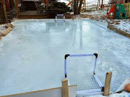 backyard ice skating rink home design