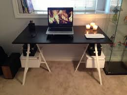 Ikea Craft Table by Dinner Table And Desk Cheap And Easy Ikea Hackers Ikea Hackers