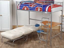 High Sleeper With Futon Bunk With Futon And Desk