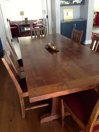 Walnut Dining Room by Custom Made California Walnut Dining Table By Top Notch Carpentry
