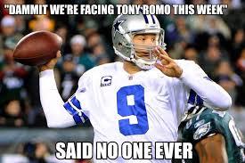 Romo Interception Meme - let s all laugh at tony romo guyhumor