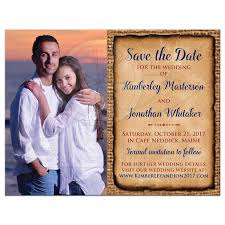 save the date website rustic photo save the date card autumn leaves simulated burlap