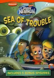 adventures jimmy neutron boy genius sea trouble dvd