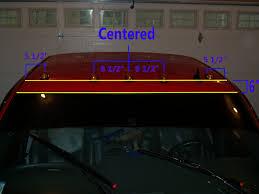 oem chevy cab lights silverado mods how to install cab lights