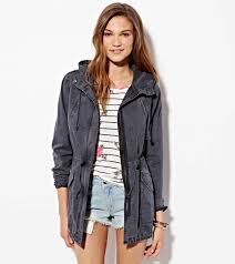 American Eagle Parka Ae Hooded Utility Jacket American Eagle Outfitters On The Hunt
