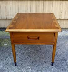 lane furniture coffee table awesome sgned lane mid century danish modern dovetail acclaim side