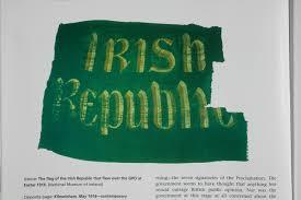 Flag Of Ireland National Library Of Ireland 1916 Exhibition