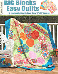 big block easy quilts by suzanne mcneill