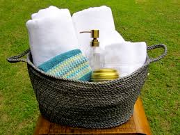 wedding bathroom basket ideas melanie honest glimmer the stingy saver page 24