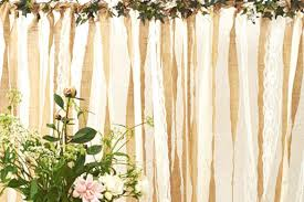 wedding backdrop burlap a few fresh wedding ideas norah sleep wedding style backdrop