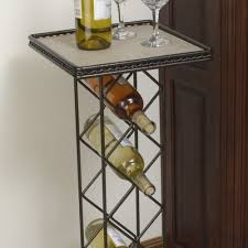 amazon com j u0026j wire wine rack with tile table top outdoor and