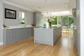 kitchen room shaker style kitchen cabinets gray walls white
