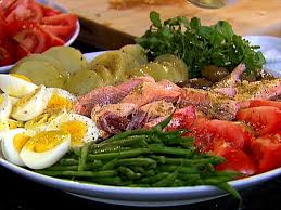 Ina Garten Roast Beef Roasted Salmon Nicoise Platter Recipe Ina Garten Food Network