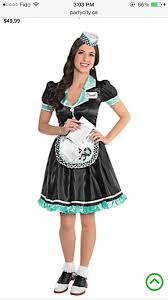 party city halloween return policy 1950 u0027s diner waitress costume halloween pinterest costumes