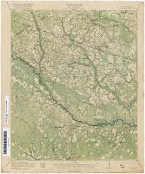 St George Island Florida Map by