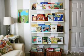 Display Bookcase For Children Displaying Books In The Playroom Jones Design Company