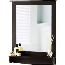 Walmart Bathroom Mirrors by Delby Bathroom Mirror With Shelf Decor Gyleshomes Com