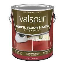 shop valspar tile red satin interior exterior porch and floor