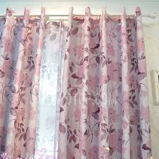 purple flower western curtains and drapes