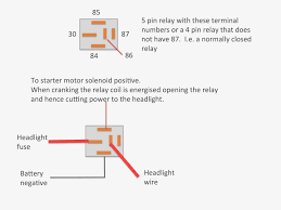 relay wiring diagram radio spotlight auto relay diagram