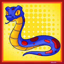 how to draw a cartoon snake step by step cartoon animals