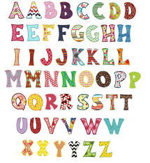 whimsical applique machine embroidery alphabet font designs by juju