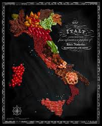 Har Map Country Maps Made From Traditional Foods
